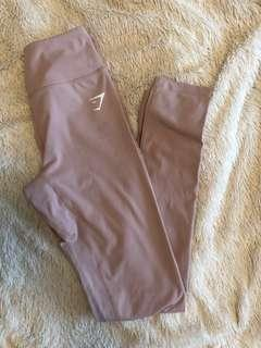 GYMSHARK XS taupe leggings dreamy collection (new)