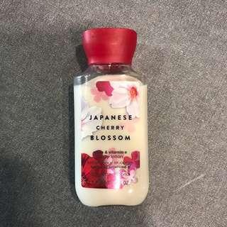 Bath & Body Works Body Lotion Japanesse Cherry Blossom