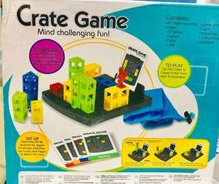 Crate Game: Mind Challenging Fun (in original packaging)