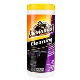 🚚 Armor All Cleaning Wipes (25 ct)