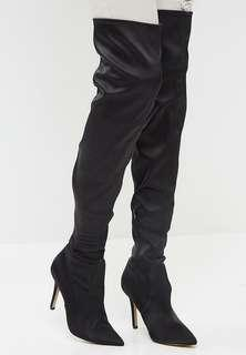 NEW thigh high aldo boots heels 6.5