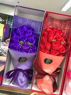 Valentine's Bouquet flower soap