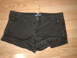 American Eagle Outfitters brown shorts size 4