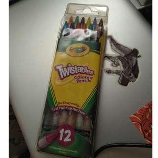 Crayola Twistables Colored Pencils set of 12