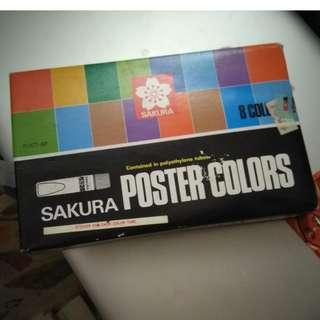 Sakura Poster Color Set
