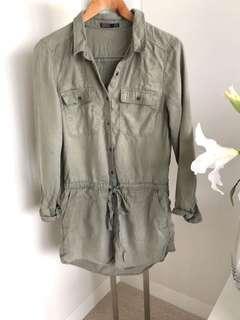 SASS shirt dress S10