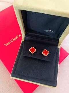 Authentic Van Cleef Arpels Sweet Alhambra Earstuds