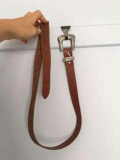 Gorgeous vintage leather belt