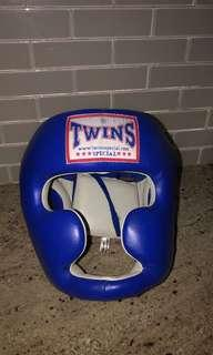 Brand New Twins Special Fancy Classic Head Gear Guard Sparring