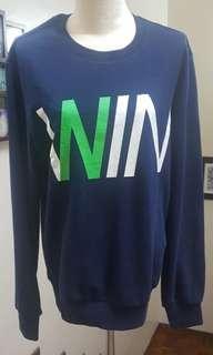 NII Mens/Womens WIN Blue Sweater