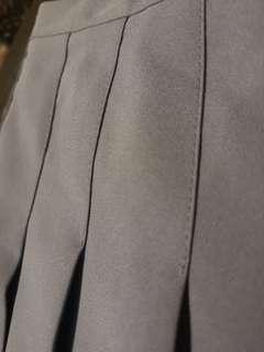 (NEW) dusty blue tennis skirt w/shorts
