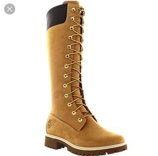 "Ladies Timberland Premium 14"" Waterproof Earth Keeper Winter Boots"