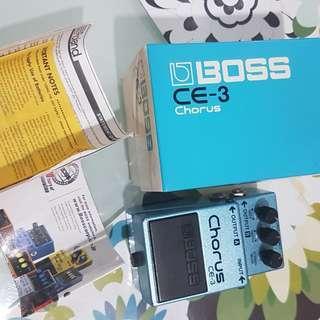 Boss chorus ce3