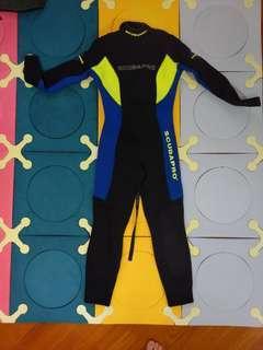 平讓 ~Wetsuit 潛水衣 保暖泳衣 3mm厚