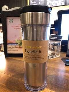 DOODLE YOUR OWN TUMBLER