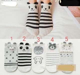 🚚 Korean Cute Animal Socks