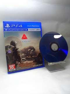 4⃣PS4 繁體中文版 極點 Farpoint 【VR專用】光碟完美 完整盒裝 中英文版 4⃣PS4 English version Extreme Farpoint [VR-specific] CD perfect complete boxed Chinese and English version