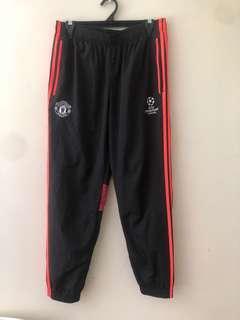 Adidas Manchester United tracksuit pants