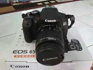 Canon eos 650d fullset