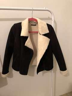 Brandy Melville suede jacket - size small