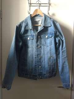 Classic Denim Jacket By Atmos & Here Size 14 Exclusive to The Iconic