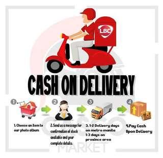 Cash On Delivery and Cash On Pick-up Via LBC✔️