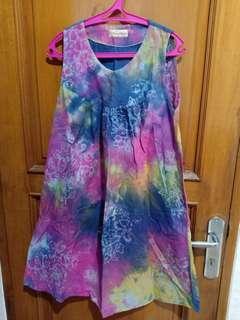 Dress Batik Gradasi