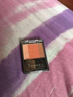 Authentic RIMMEL blush on