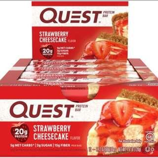 *CLEARANCE* Quest Double Choc Chunk and Strawberry Cheesecake