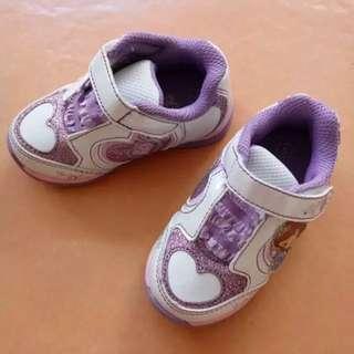 Sepatu LED Disney Sofia Payless