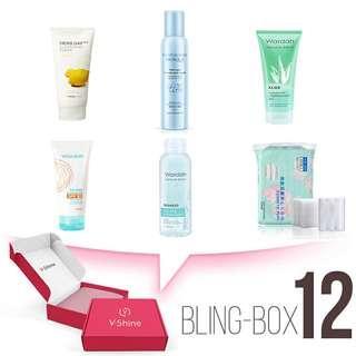BLING BOX PERAWATAN kulit harian 6pcs