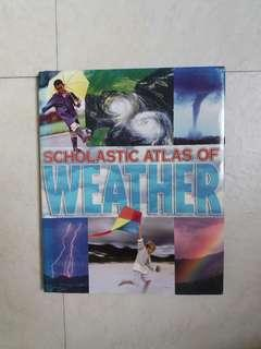 Scholastic atlas of weather book