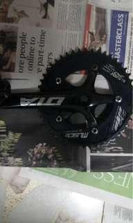 OTA muscle crankset with pedals and strap