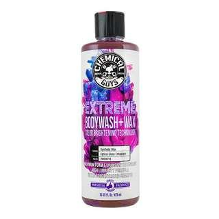 Chemical Guys Extreme BodyWash & Wax (500ml No Label)