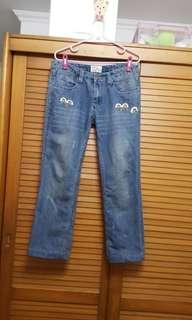 🚚 ENERGIE 刺繡牛仔褲