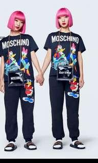 🚚 Bnwt moschino donald ladies tee S M L each only