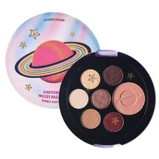 Etude House Be My Universe Multi Palette Pink Galaxy Limited Edition