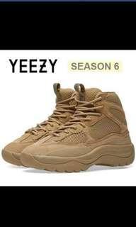 Yeezy season 6 boots. BNIB Size 8