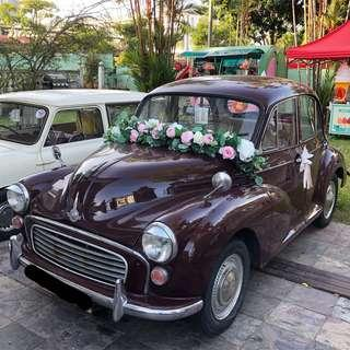 ❤️ Morris Minor for Events & Display (#softcreamsgcars)