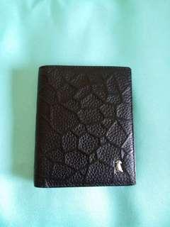 Brand new Leather wallet for men 全新男士真皮銀包 直款