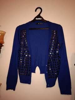 Blue Blink Cardigan