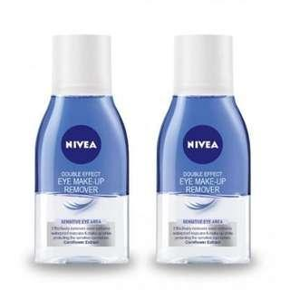 [FREE ONG] - TWIN PACK Nivea Eye Make Up Remover 125 ml