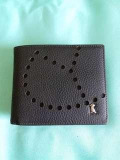 Brand new Leather wallet for men 全新男士真皮銀包 横款