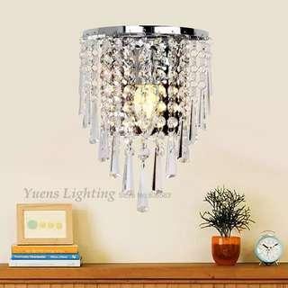 🚚 Crystal wall light