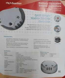 Smoke Detector Battery opearted