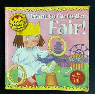 Little princess I want to go to the fair