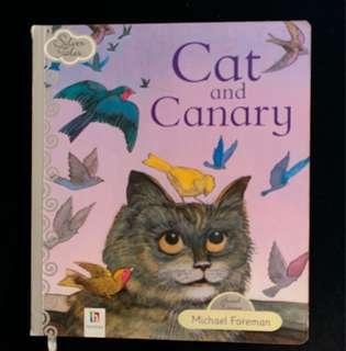 Cat and the canary by Michael Foreman children's book