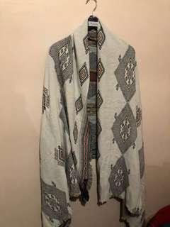 ZARA blanket scarf - 2 in 1