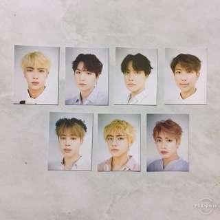 BTS 2019 SEASON'S GREETINGS PHOTO ID