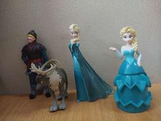 Patung Boneka Frozen Original